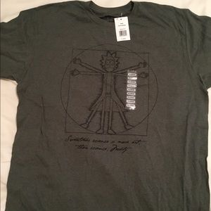 NEW Rick and MORTY Pentagram Tee Size XL